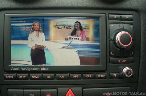 audi a3 navigation plus rns e multimedia erweiterung av adapter dvb t tv