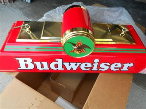 budweiser pool table light budweiser pool table light new in box