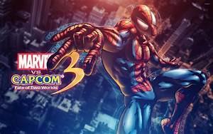 Marvel vs. Capcom Spider-Man wallpaper - Game wallpapers ...