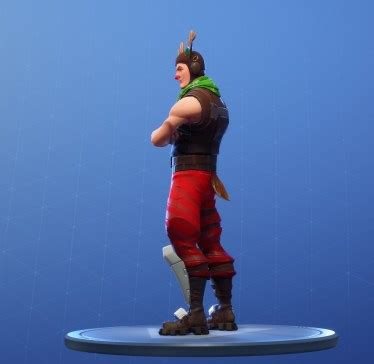 fortnite red nosed ranger skin uncommon outfit