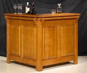 Meuble Bar Angle : bar d 39 angle rustique avec ou sans rehausse meubles bois massif ~ Melissatoandfro.com Idées de Décoration