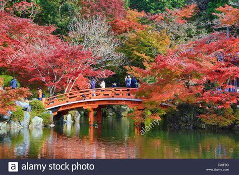 japanese landscape pictures bridge daigo ji japan asia kansai kyoto japanese landscape stock photo royalty free