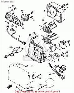 Yamaha Ef600 Generator Control Box