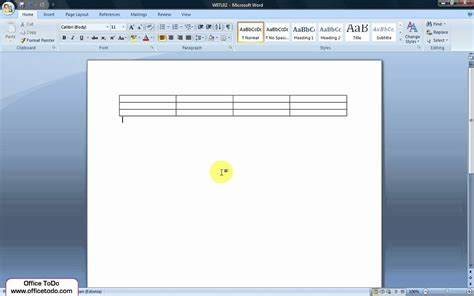 Word  How To Set Table Columns Or Rows To Fixed Width Or