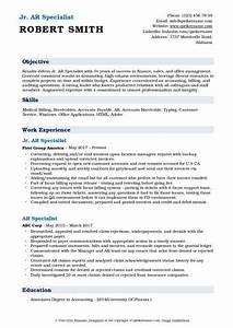 Accounts Payable Resume Ar Specialist Resume Samples Qwikresume