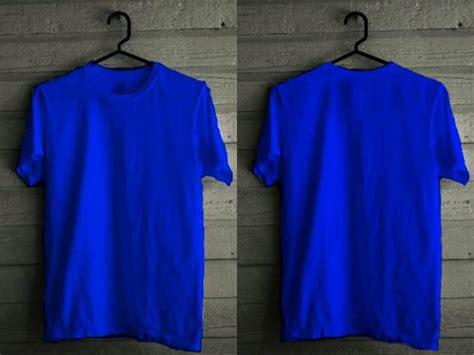 Rouf: Kaos polos warna warni tinggal desain sendiri