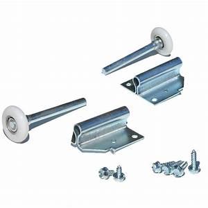 support roulette porte basculante roulettes et vis With pieces detachees pour porte de garage basculante