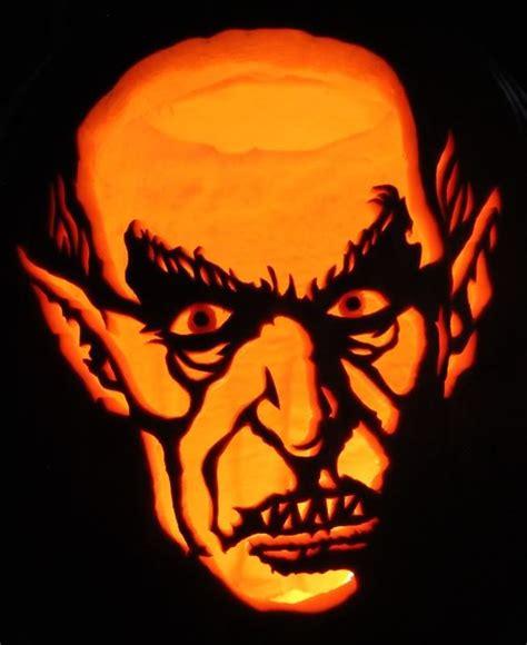 nosferatu pumpkin carving scary pumpkin pumpkin