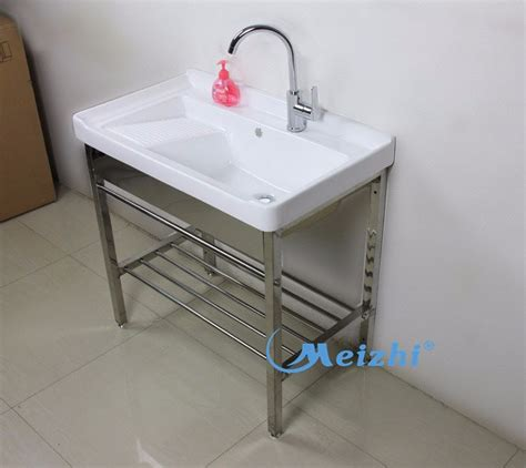 ceramic laundry tub with washboard ceramica vasca lavanderia con washboard lavelli bagno
