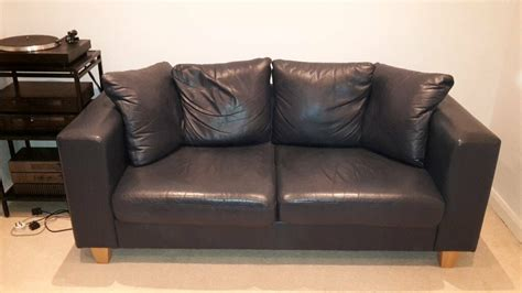 navy leather sofa  guildford surrey gumtree