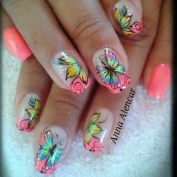About butterfly nail designs on art