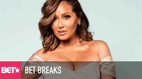 Adrienne Bailon Squashes Ancient 3lw Beef