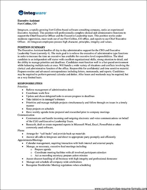 Listing Volunteer Work On Resume Exle by Office Assistant Resume Volunteer Experience