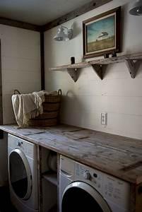 40 rustic farmhouse laundry room decor ideas decoremodel for Suggested ideas for laundry room design