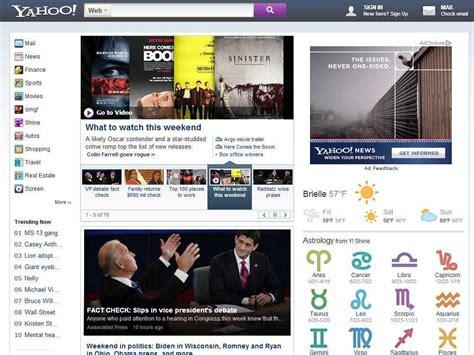marissa mayers  yahoocom homepage business insider