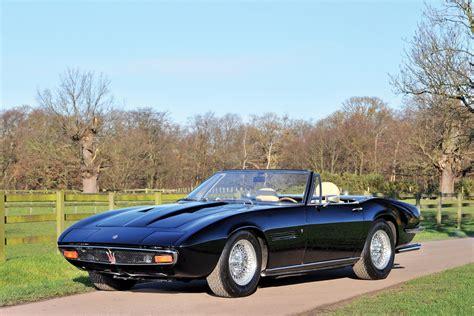 1969→1973 Maserati Ghibli Spyder