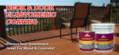 Superdeck Deck And Dock Data Page by Superdeck Deck Dock Elastomeric Coating Capps Home