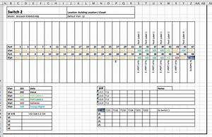 Sample Excel Templates  Networking Template Excel