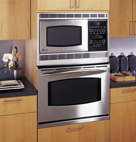ge profile  built  double microwaveconvection oven