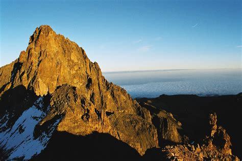 kenya mount fun facts mountain mt africa children earth science info highest kilimanjaro peak things
