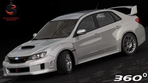 Subaru Impreza Wrx Sti 3d Model