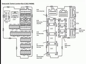 2001 Ford Explorer Sport Trac Fuse Panel Diagram