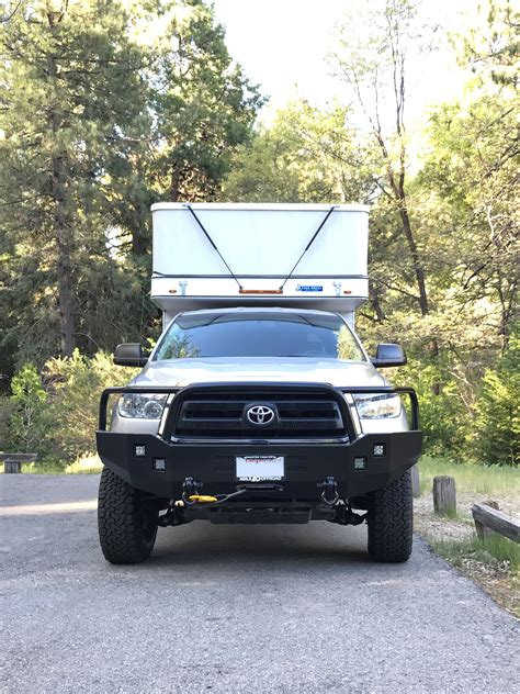 Toyota Bumpers by Toyota Tundra Winch Bumper Aluminess