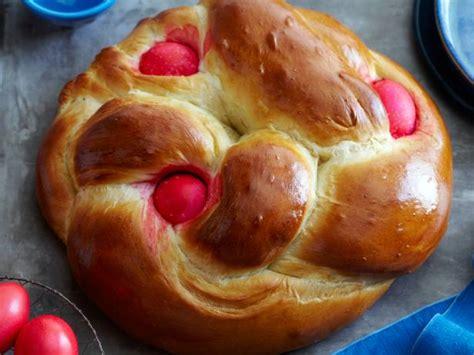 greek easter bread recipe food network kitchen food