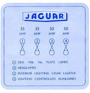 Jaguar Vanden 1985 Headlamp Pin Out Fuse Box  Block Circuit
