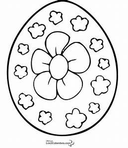 Coloriage De Paque : coloriage oeuf de paques fleur 5 coloriage en ligne ~ Melissatoandfro.com Idées de Décoration