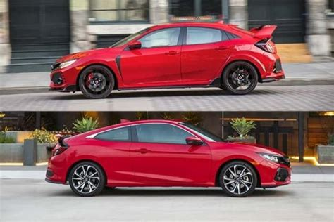 Type R Vs Si deciding between a 2017 honda civic si and a 2017 civic