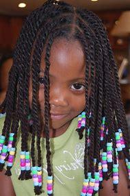 Kids Braids Ponytail Black Hairstyle