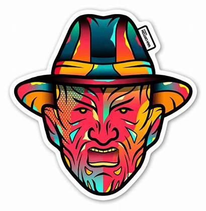 Freddy Krueger Stickers Sticker Stickerapp Template Pop