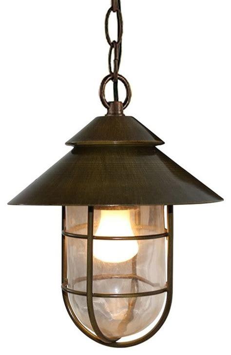 vintage industrial style hat shape pendant light