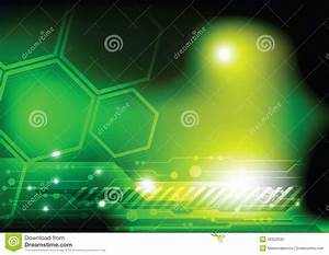 Green Technology Background Stock Vector - Image: 26322630