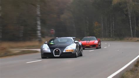 Bugatti Veyron Vs Ferrari F430 Jdc!no Car No Fun