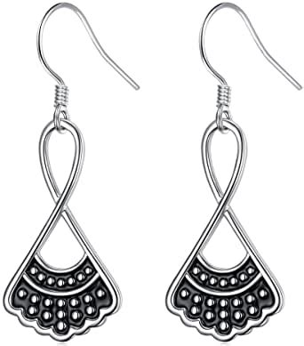 amazoncom sterling silver rbg dissent collar earrings