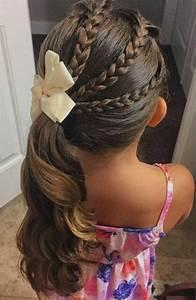 Coiffure Petite Fille Facile : coiffure petite fille 90 id es pour votre petite princesse ~ Dallasstarsshop.com Idées de Décoration