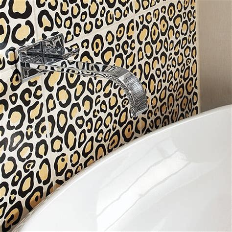 Leopard Print Bathroom Decor by Animal Print Bathroom Decor