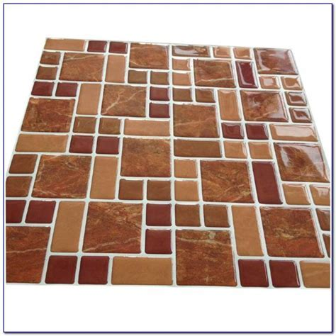 Homebase Self Adhesive Vinyl Floor Planks   Flooring