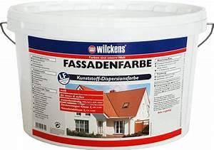 Fassadenfarbe Für Eternitplatten : wilckens fassadenfarbe kunststoff dispersionsfarbe real ~ Lizthompson.info Haus und Dekorationen