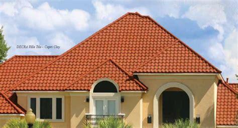 orange roof new orange roof tiles close up detail 183 red