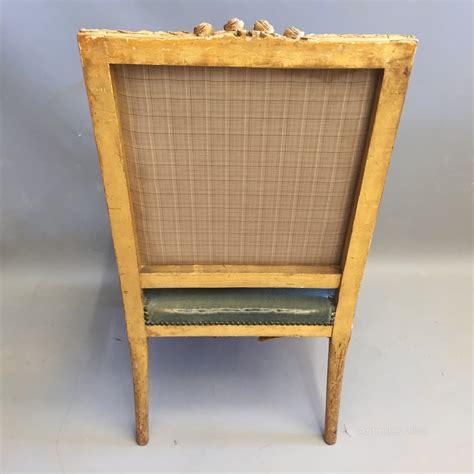 atlas canape single gilt armchair or canape antiques atlas