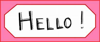 Hello Clipart Word Fun Digital Printable Clip