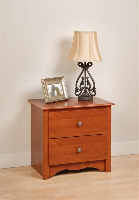 Two Drawer Nightstand by Napa Two Drawer Nightstand