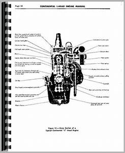 Galion 503 Grader Continental Engine Service Manual