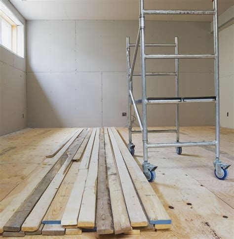 Basement Subfloor Options For Dry, Warm Floors