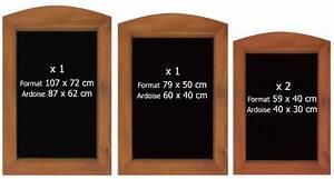 Tableau Ardoise Murale : tableau ardoise lot de 4 bear008 ~ Preciouscoupons.com Idées de Décoration
