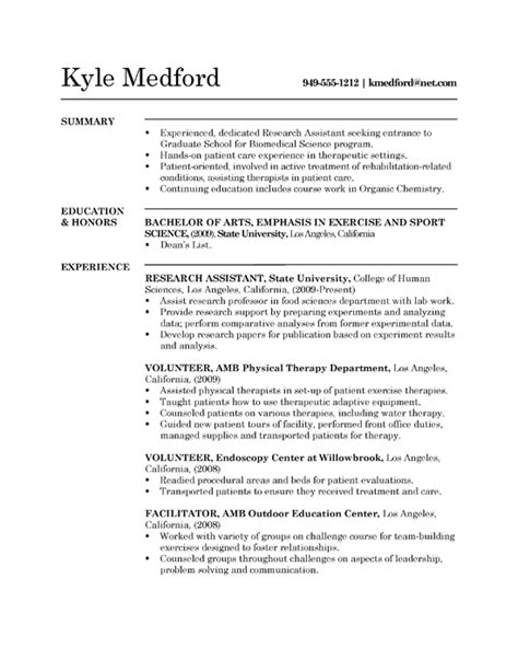 research assistant resume  sample