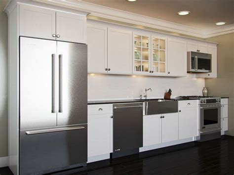 Small Kitchen Against One Wall Design